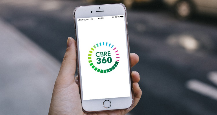 CBRE 360 : l'application des collaborateurs de CBRE